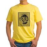Martial Arts Logo Yellow T-Shirt