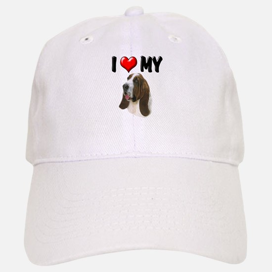 I Love My Basset Hound Baseball Baseball Cap