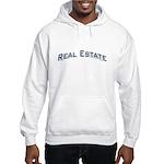 Real Estate / Blue Hooded Sweatshirt
