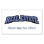 Real Estate / Offer Sticker (Rectangle)