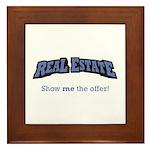 Real Estate / Offer Framed Tile
