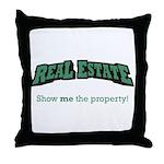Real Estate / Property Throw Pillow