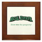 Real Estate / Property Framed Tile
