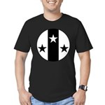 Meridies Populace Badge Men's Fitted T-Shirt (dark