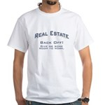 Real Estate / Back Off White T-Shirt