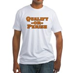Qualify or Perish Fitted T-Shirt