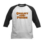 Qualify or Perish Kids Baseball Jersey