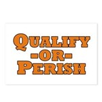 Qualify or Perish Postcards (Package of 8)