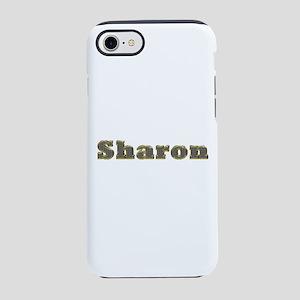 Sharon Gold Diamond Bling iPhone 7 Tough Case