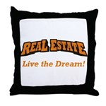 Real Estate / Dream Throw Pillow