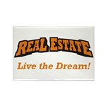 Real Estate / Dream Rectangle Magnet (10 pack)