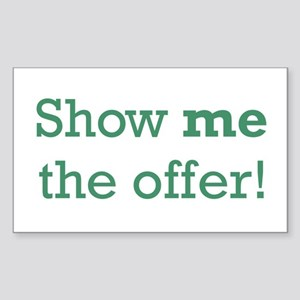 Show me the Offer Sticker (Rectangle)