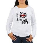 Brits Women's Long Sleeve T-Shirt