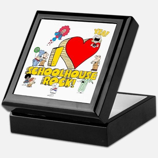 I Heart Schoolhouse Rock! Keepsake Box