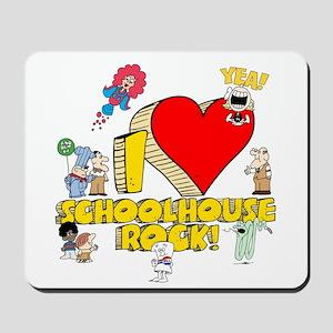 I Heart Schoolhouse Rock! Mousepad