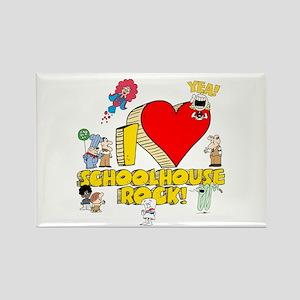 I Heart Schoolhouse Rock! Rectangle Magnet