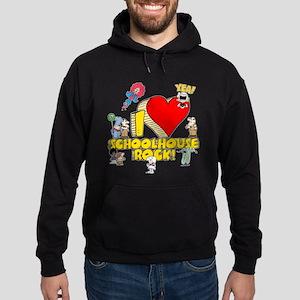I Heart Schoolhouse Rock! Hoodie (dark)