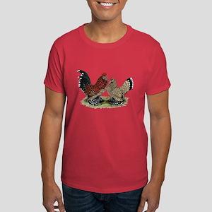 DUccle Mille Fleur Pair Dark T-Shirt