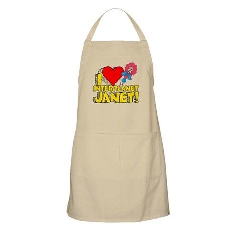 I Heart Interplanet Janet! Apron