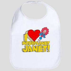 I Heart Interplanet Janet! Bib