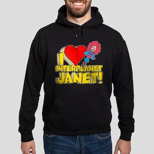 I Heart Interplanet Janet! Hoodie (dark)
