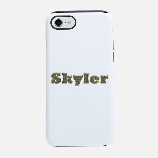 Skyler Gold Diamond Bling iPhone 7 Tough Case