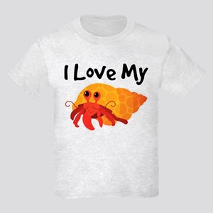 I Love My Hermit Crab Kids Light T-Shirt