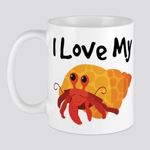 I Love My Hermit Crab Mug