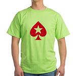PokerStars Shirts and Clothin Green T-Shirt