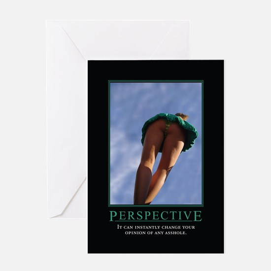 Perspective Greeting Card