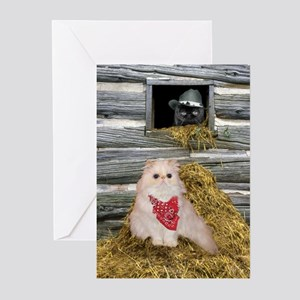 Country Cosmo Greeting Cards (Pk of 10)