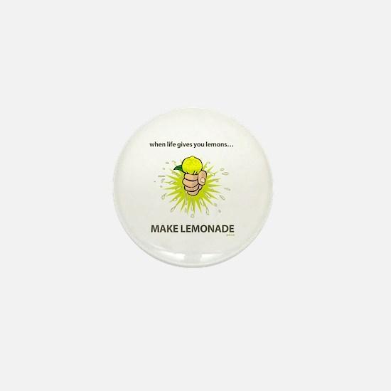Make lemonade - Mini Button