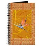 Gold Bird of Paradise Journal