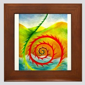 Koru Range Framed Tile
