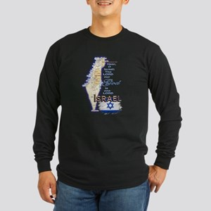 Deuteronomy 6:4 - Long Sleeve Dark T-Shirt