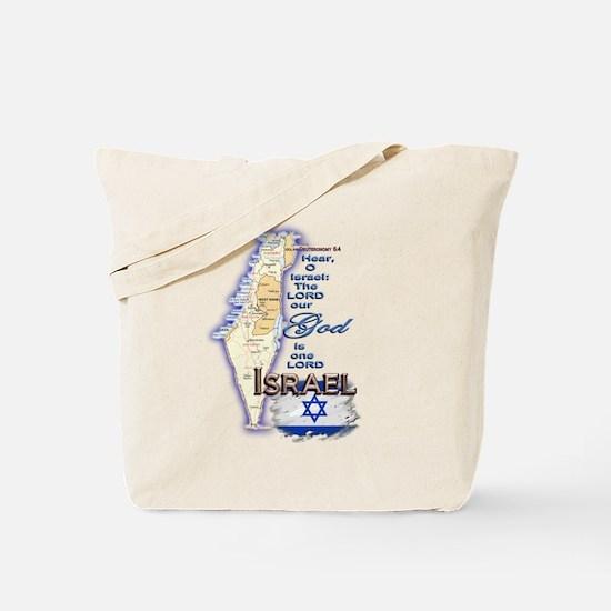 Deuteronomy 6:4 - Tote Bag