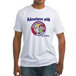 Adventures with Afterschool Buddy Fitted T-Shirt
