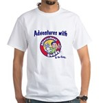 Adventures with Afterschool Buddy White T-Shirt