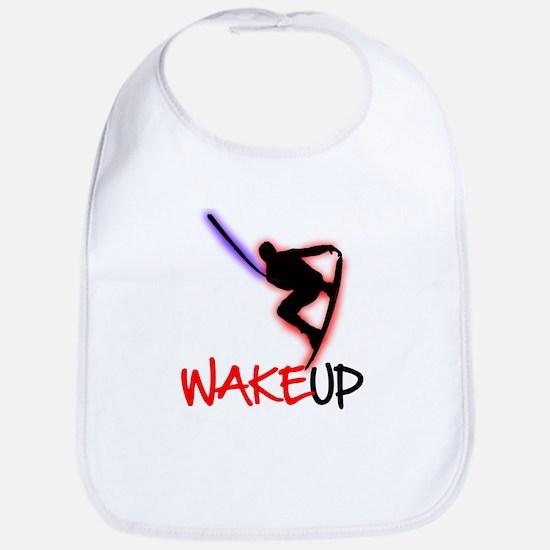 Wake Up Red/Purple Bib