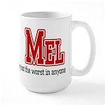Team Mel Large Mug