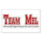 Team Mel Sticker (Rectangle 10 pk)