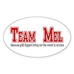 Team Mel Sticker (Oval 10 pk)