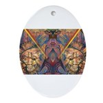 African Magic Oval Ornament