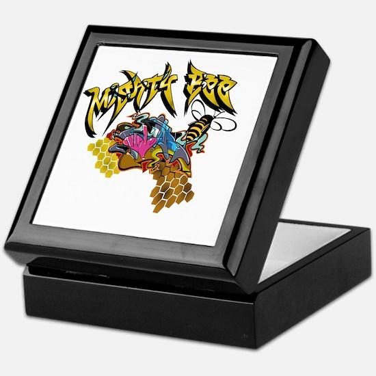 Graffiti Mighty Bee Keepsake Box
