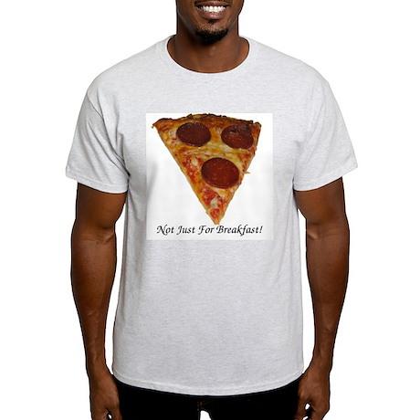 Pizza! Ash Grey T-Shirt