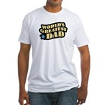 Worlds Greatest Dad Fitted T-Shirt