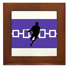 Lacrosse Iroquois Nation Framed Tile