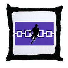 Lacrosse Iroquois Nation Throw Pillow
