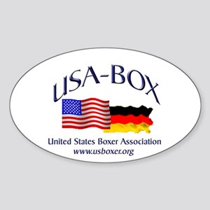USA-BOX Sticker (Oval)