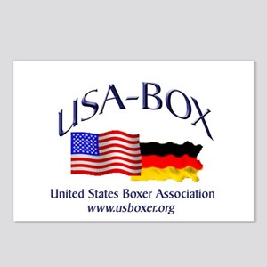 USA-BOX Postcards (Package of 8)